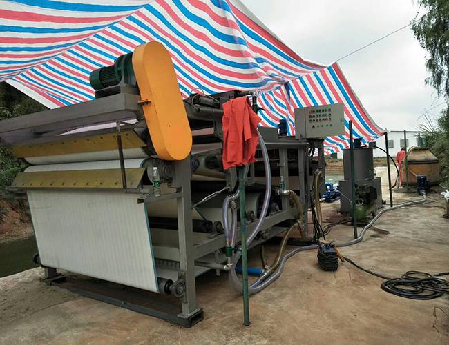 带式过滤机-一体化污水处