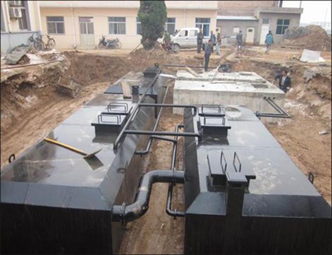 司地埋式一体化污水处理